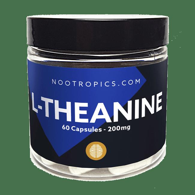 L-Theanine nootropic capsules 200mg