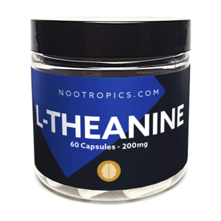 L-Theanine nootropic capsules 200mg