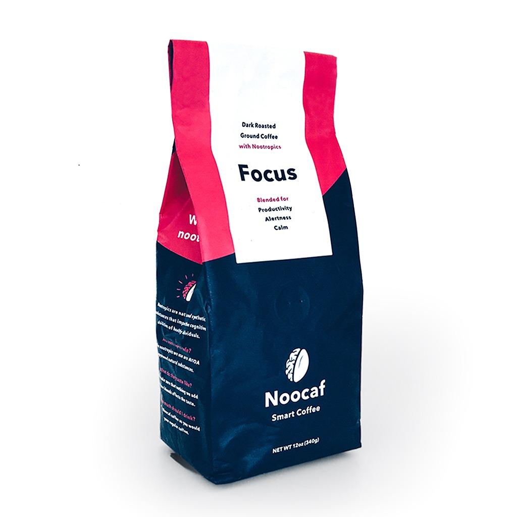 Noocaf coffee focus bag - nootropic infused coffee