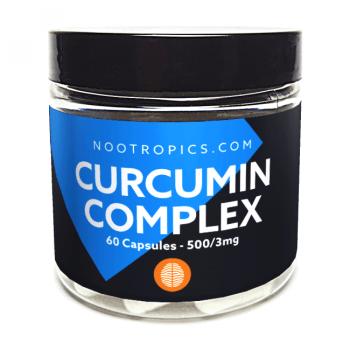 Piperine + Curciumin complex capsules 500/mg